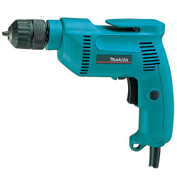 MAKITA DRILLS 10mm keyless chuck / var. speed / 0 - 2,500 r/min / reverse / 530W   Pistol Type