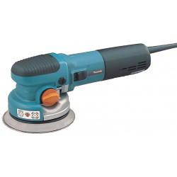 Random Orbit Sander / 150mm diameter / var. speed gear selection / Velcro / 1,600-5,800 orbits/min / dust port / 750W