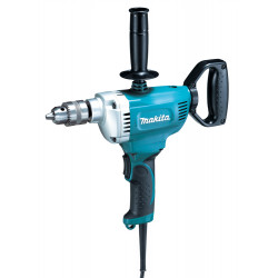 DRILL (Supplied without drill bits) 13mm GEARED chuck / single -speed / 600 r/min /reverse / 750W   D-Handle
