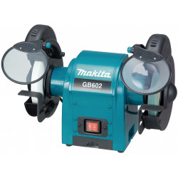 BENCH GRINGER 150mm x 16mm wheel / 2,850 r/min / built-in job light / 250W