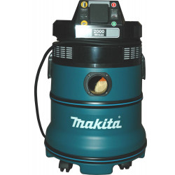 MAKITA Vacuum Cleaner Wet & Dry / 1,000W / 3,0m3/min / 4 filters / auto start power outlet 2,000W