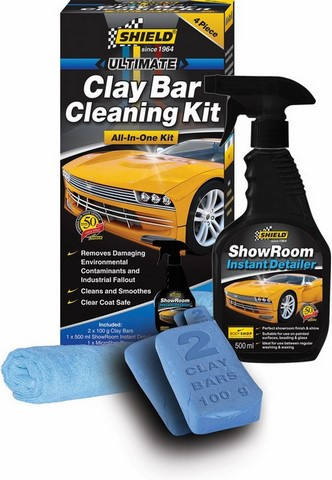 SHIELD CLAY BAR CLEANER KIT SH657 (12) - Passionate Tools