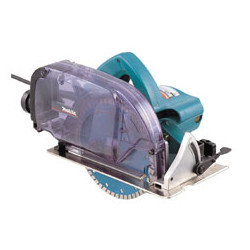 MAKITA CONCRETE CUTTERS (DIAMOND TOOLS) 180mm blade / DRY cutting / with dust collection & port / 1,400W  (Without blade)