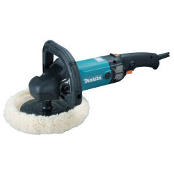 POLISHER 180mm / velcro / full wave electronic  polisher / var. speed / 0 - 3,200 r/min / 1,200W   (With Wool Bonnet)