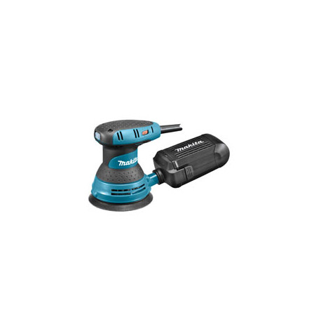 Random Orbit Sander / 125mm diameter / palm grip / Velcro / 4,000 - 12,000 orbits/min / with dust box / 300W