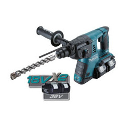 Li-Ion COMPACT ROTARY HAMMER / 26mm SDS-Plus / var. speed /0 - 1,200 r/min / reverse   (With torque limiter)  3 operation modes