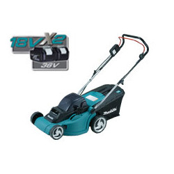 Cordless Li-Ion Lawn Mower / Cutting width 350mm / light weight 40L Grass Box / Moving area 27-540m2 / 3,700r/min