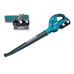 Cordless Li-Ion Blower Air Volume - High/Low setting: 4.4/2.6  m3/min / Air speed High/Low setting: 93/57 m/s 94.7dB(A)