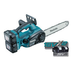 Cordless Li-Ion Chain Saw BL Mototr / 300mm chain / chain speed: 500m/min /