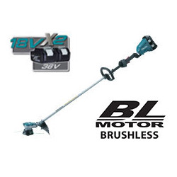 Cordless Li-Ion String Trimmer / Loop Handle / Multi functional control panel / Soft start / 2 speed control / 5,000 / 6,500r/m