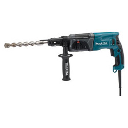 ROTARY HAMMER .24mm SDS-Plus / var. speed / 0 - 1,100 r/min / reverse / 780W /  (With torque limiter)  3 operation modes  Quick