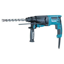 ROTARY HAMMER 26mm SDS-Plus / var. speed / 0 - 1,200 r/min / reverse/ 800W   (With torque limiter)  3 operation modes Pistol Ty