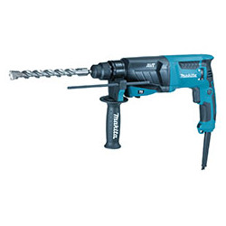 ROTARY HAMMER 26mm SDS-Plus / var. speed / 0 - 1,200 r/min / reverse / 800W / (With torque limiter)  3 operation modes Pistol T
