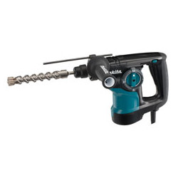 ROTARY HAMMER 28mm SDS-Plus / var. speed / 0 - 1,100 r/min / reverse / 800W    (With torque limiter)  3 operation modes  Quick