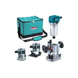 """Complete with Trimmer, Tilt Base, Plunge Base  6.35mm (1/4"""") collet / vari-speed 10,000 - 30,000 r/min / 710W"""