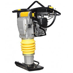 TAMPING RAMMER Operation kg  68 Impact force kg  1300 Shoe size mm  330 x 285  (3 hp) (Honda Engine)