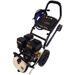 PRESSURE WASHERS PETROL ENGINE DRIVEN HP WASHER Pressure – 186 Bar 2700 PSI.  Water flow – 7.9 l/p min