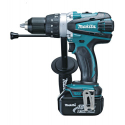 Li-ion  IMPACT DRIVER-DRILL / 13mm chuck / 91Nm/58Nm / var.2-speed / 0 - 2,000 r/min /reverse / built-in job light / Tool & Cas