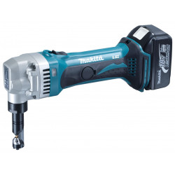 Steel 1.2 - 1.6mm /1900 strokes per minute / 18V Cordless Nibbler / Low battery auto shut off / Tool Only