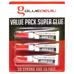 SUPERGLUE GLUE DEVIL 3G 3-PACK