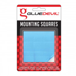 TAPE D/SIDED 9-SQUARES 24X24MM