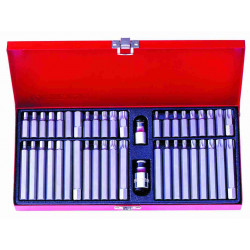 BIT SET 44 PC X 10MM SHANK