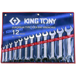 SPANNER SET 12PC DOUBLE OPEN 6-32MM