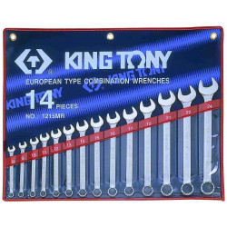 SPANNER SET 14PC COMB.8-24MM