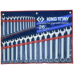 SPANNER SET 26PC COMBINATION 6-32MM
