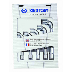 SOCKET ANGLE WRENCH SET 10-17MM