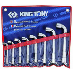 SOCKET ANGLE WRENCH SET 8-19MM