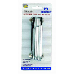ALLEN KEY KNIFE TYPE 2-10MM