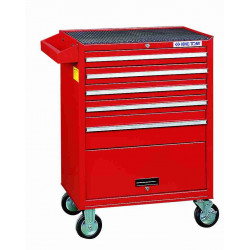 TOOL TROLLEY 5 DRAW BALL BEARING SLIDES