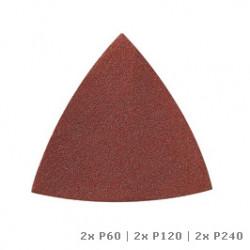 NLA -MM70W DR SAND PAPER WOODP80/120/240