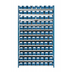 SINGLE ENTRY RACK 96 BINS 300 - EXTENSION